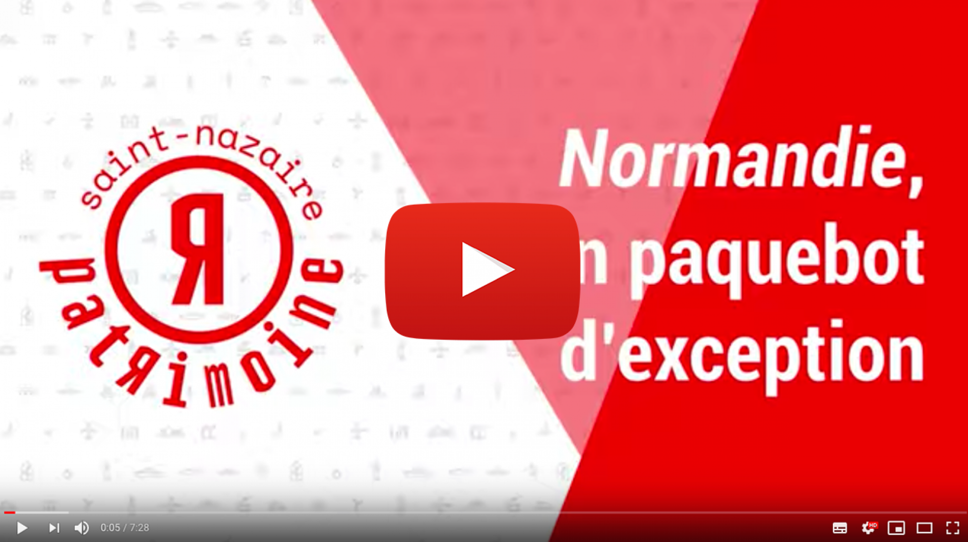 Video Normandie Paquebot d'Exception