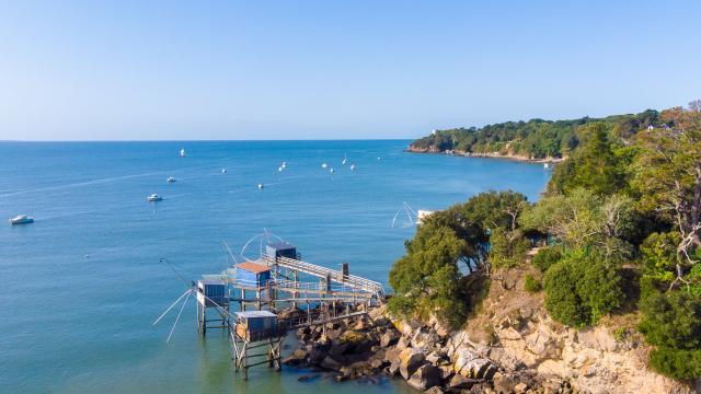 Pêcheries de Trébezy à Saint-Nazaire Chemin Côtier
