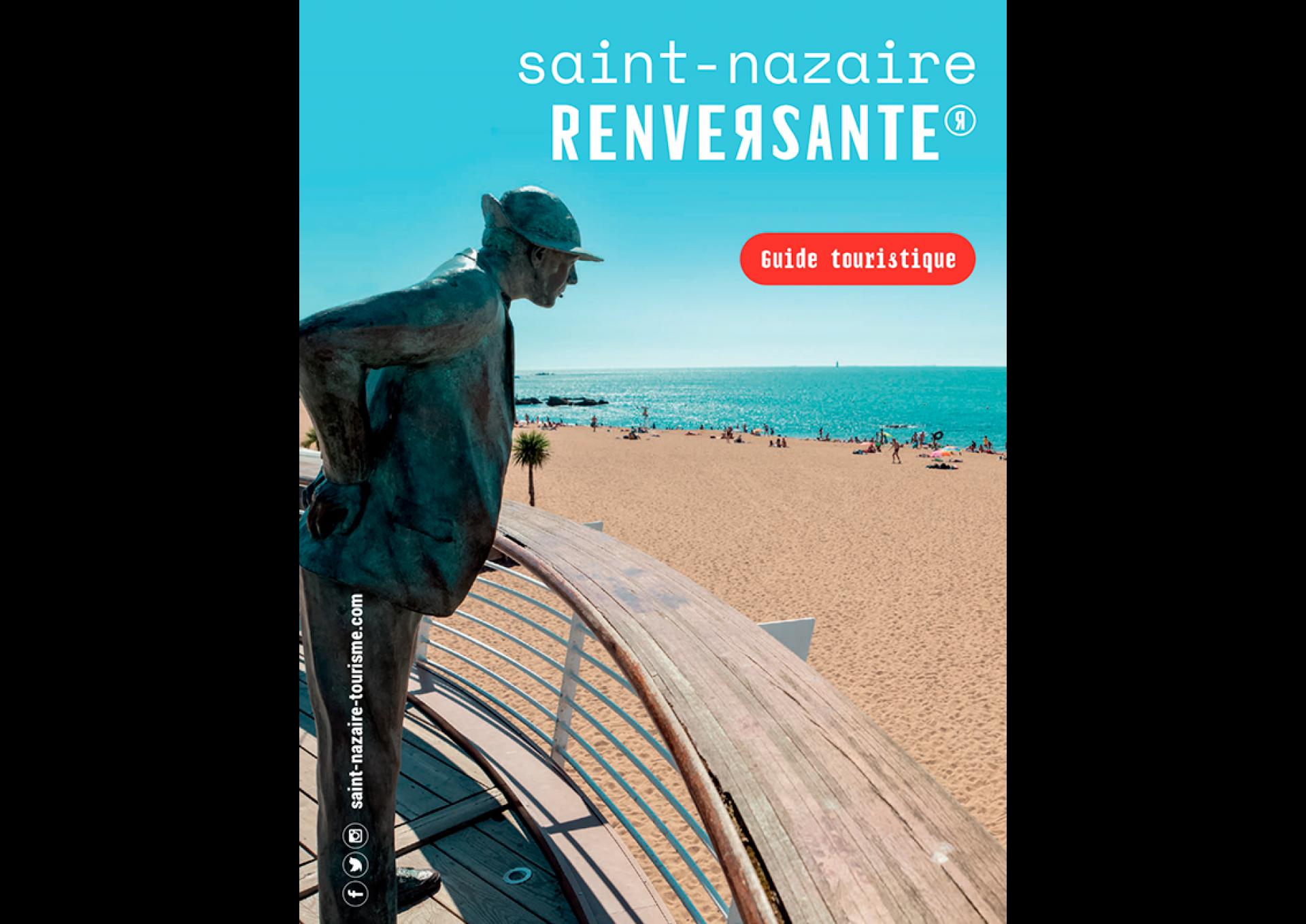 Couverture Guide Destination Saint Nazaire Renversante 2020