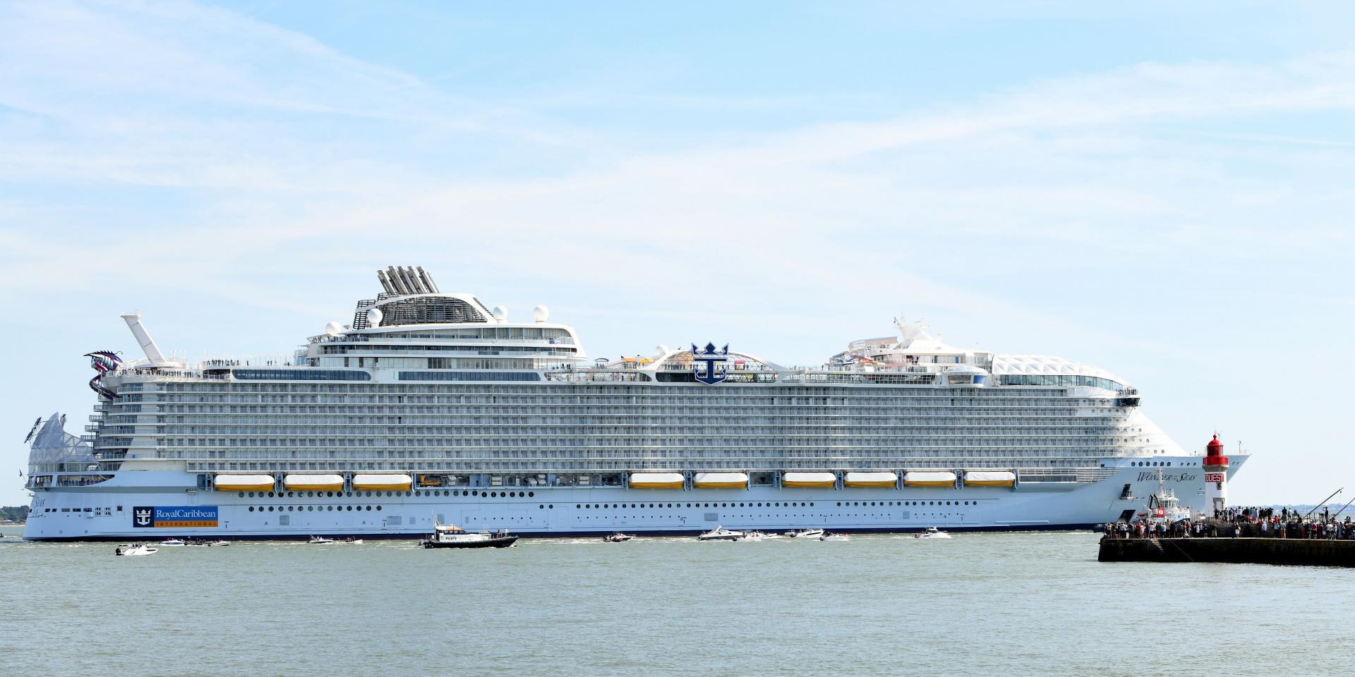 Wonder Of The Seas Essais En Mer Carene Martin Launay 23 08 2021 3